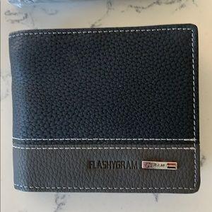 Men's flashygram wallet